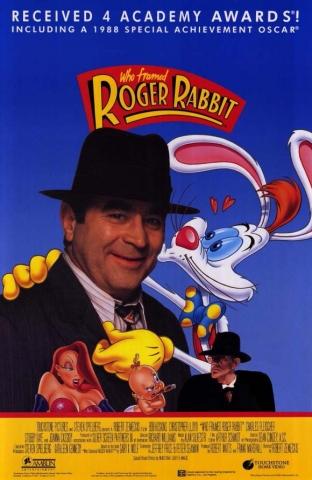 плакат фильма постер Кто подставил кролика Роджера