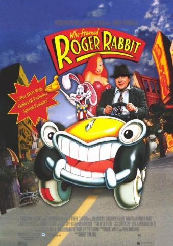 плакат фильма DVD Кто подставил кролика Роджера