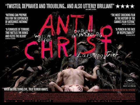 плакат фильма баннер Антихрист