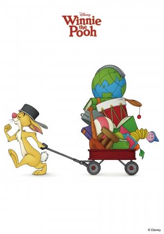 плакат фильма характер-постер Медвежонок Винни и его друзья