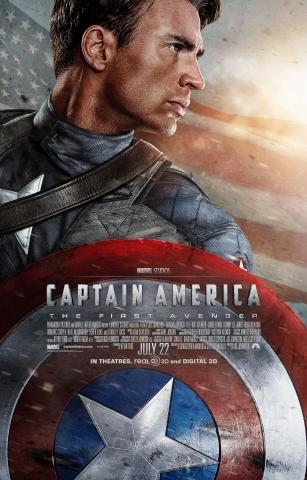 плакат фильма постер Первый Мститель