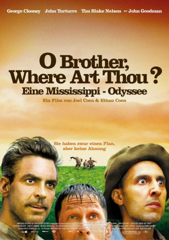 плакат фильма постер О, где же ты, брат?