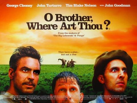 плакат фильма биллборды О, где же ты, брат?