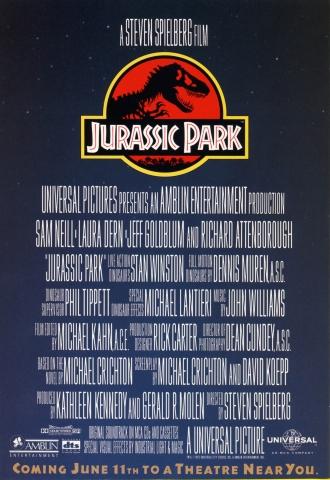 плакат фильма Парк Юрского периода