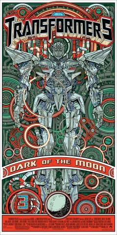 плакат фильма постер Трансформеры 3: Темная сторона Луны