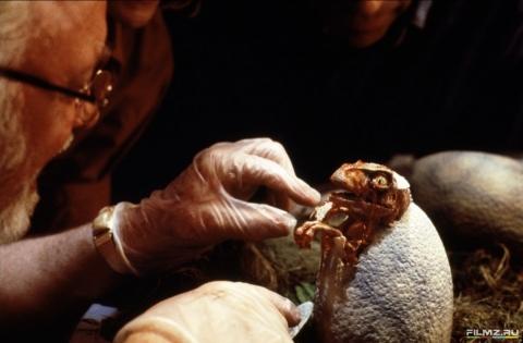 кадры из фильма Парк Юрского периода Ричард Аттенборо,