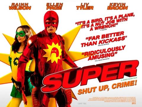 плакат фильма баннер Супер