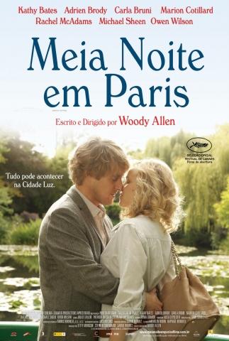 плакат фильма постер Полночь в Париже