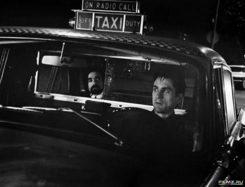 кадры из фильма Таксист Мартин Скорсезе, Роберт Де Ниро,