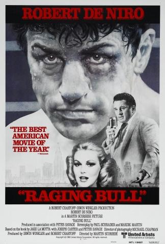 плакат фильма Бешеный бык
