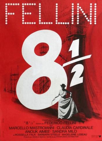 плакат фильма 8 с половиной