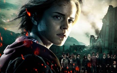 промо-слайды Гарри Поттер и Дары Смерти: Часть вторая Эмма Уотсон,