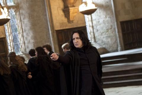 кадры из фильма Гарри Поттер и Дары Смерти: Часть вторая Алан Рикман,