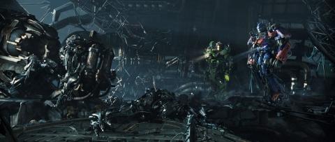 кадры из фильма Трансформеры 3: Темная сторона Луны