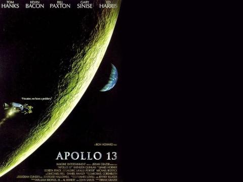 плакат фильма баннер Аполлон 13