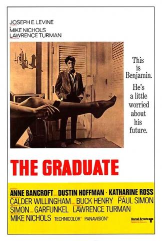 плакат фильма Выпускник