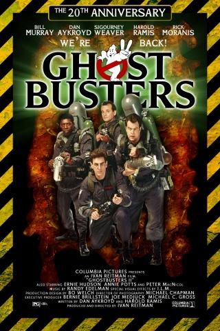 плакат фильма Охотники за привидениями II