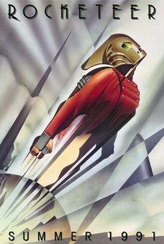 плакат фильма тизер Ракетчик