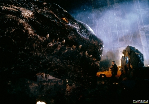 кадры из фильма Годзилла