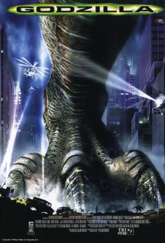 плакат фильма Годзилла