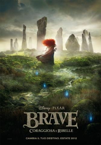 плакат фильма тизер Храбрая сердцем
