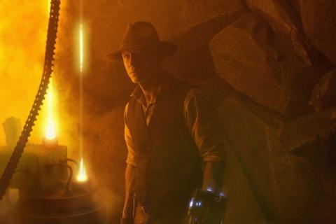 кадры из фильма Ковбои против пришельцев Дэниел Крэйг,