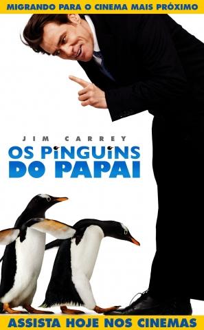 плакат фильма постер Пингвины мистера Поппера