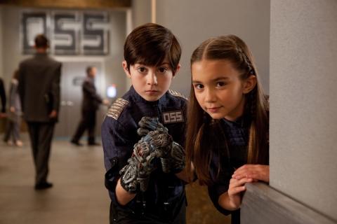 кадры из фильма Дети шпионов в 4D Мэйсон Кук, Роуэн Бланшар,