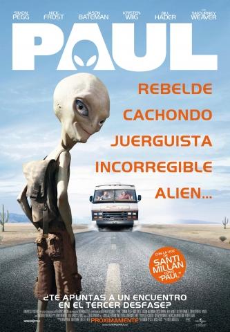 плакат фильма постер Пол: Секретный материальчик