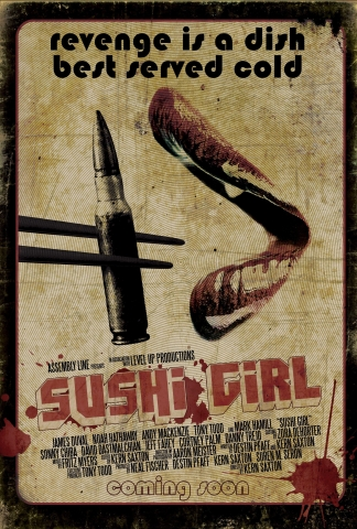плакат фильма постер Суши гёл