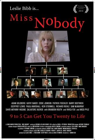 плакат фильма постер Мисс Никто
