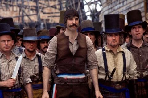 кадры из фильма Банды Нью-Йорка Гэри Льюис, Дэниэл Дэй-Льюис,