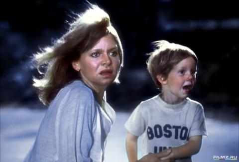кадры из фильма Близкие контакты третьей степени Мелинда Диллон,