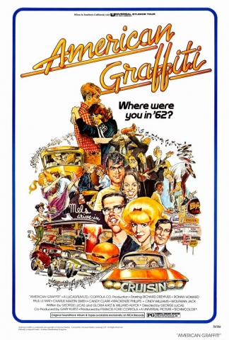 плакат фильма Американские граффити