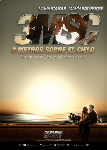 плакат фильма тизер Три метра над уровнем неба