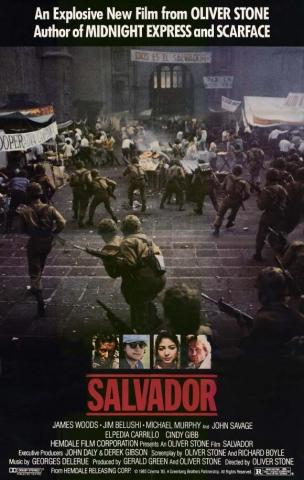 плакат фильма Сальвадор