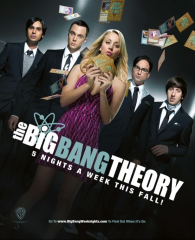 плакат фильма постер Теория большого взрыва