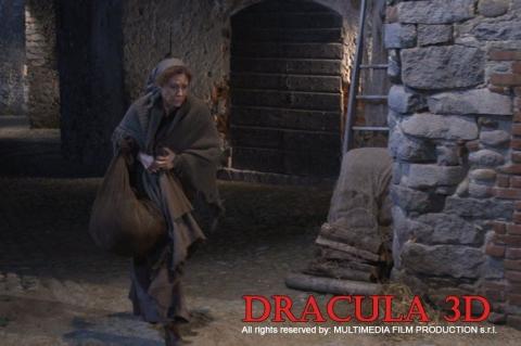 кадры из фильма Дракула 3D*