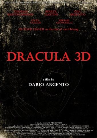 плакат фильма тизер Дракула 3D*