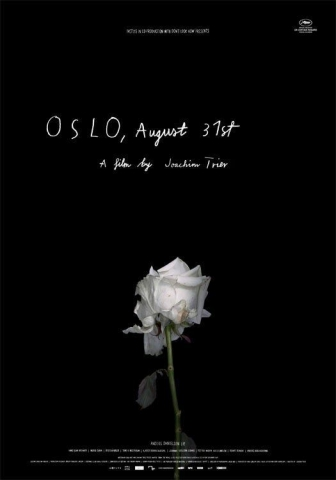 плакат фильма тизер Осло, 31-го августа*
