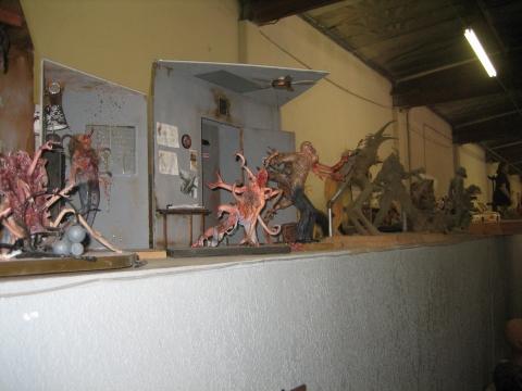 Скульпты ремейка «Нечто» (спойлер)