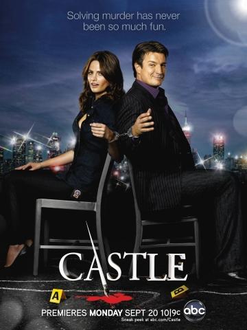 плакат фильма постер сезон 3 Касл