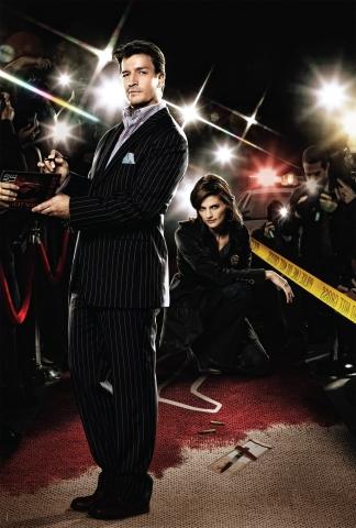 плакат фильма постер сезон 2 textless Касл