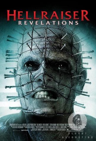 плакат фильма постер Восставший из ада: Откровение*