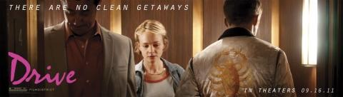 плакат фильма баннер характер-постер Драйв