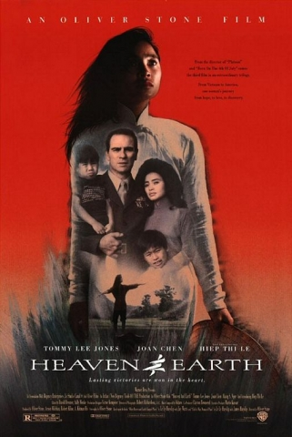 плакат фильма Небо и земля