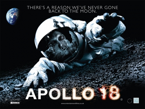 плакат фильма биллборды Аполлон 18