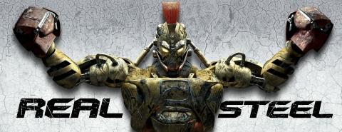плакат фильма характер-постер баннер Живая сталь