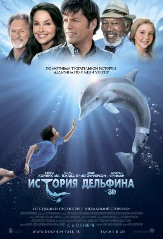 плакат фильма постер локализованные История дельфина