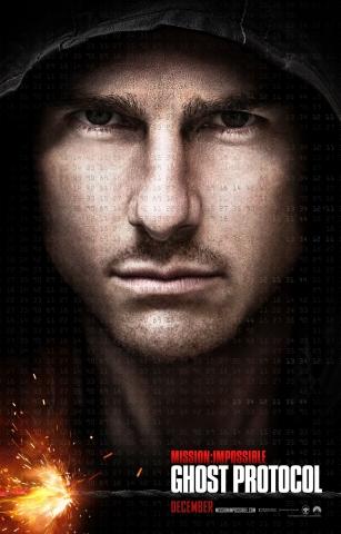 плакат фильма постер Миссия Невыполнима: Протокол Фантом